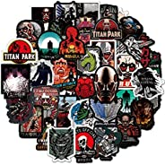 100 Pcs Attack on Titan Classic Manga Caricature Character Image Decoration Stickers Vinyl Waterproof Attackin