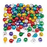 Mini Campanelle Metallizzate Baker Ross (confezione da 120) Progetti creativi e decorazioni natalizie per bambini