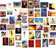 50 Mixed Blank Modern Art Greeting Cards Suitable for Birthdays & Occasions