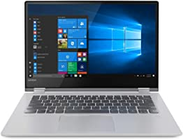 "Lenovo Yoga 530-14ARR - Portátil táctil Convertible de 14"" HD (Intel Core i3-7020U, 4GB de RAM, 128GB de SSD, Windows..."