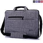 Brinch 15.6 Inch Laptop Messenger Shoulder Corss Body Bag Sleeve Carrying Clipcase Handbag Briefcase Suitfor Devices Netbooks, Laptop Computers, Macbook, Tablets, Ipad (Grey)
