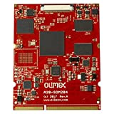 A20-som204–1Gs16me16g-mc 1Go de RAM 16Go Flash Emmc 16Mo Flash SPI, Additional mégabits Ethernet et Crypto Engine