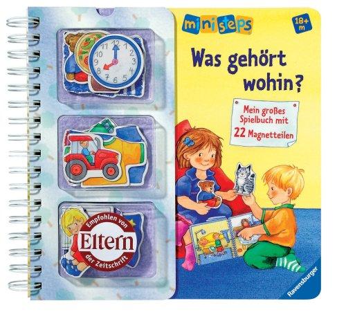 Preisvergleich Produktbild Ravensburger 04321 ministeps® Bücher Was gehört wohin(Magnet)