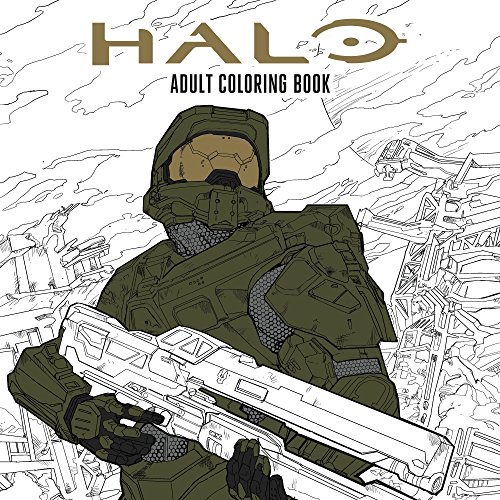 Halo Coloring Book: Based off the game Halo from Microsoft and 343 por Microsoft