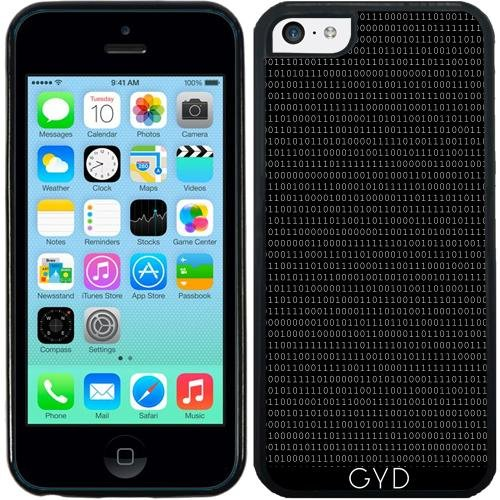 Custodia in silicone per Iphone 7 / Iphone 8 - Zero E Uno Bianco Su Nero by hera56 Silicone