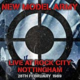Anklicken zum Vergrößeren: New model army - Live at Rock City (Audio CD)