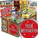 Frohe Weihnachten | Schokoladenkorb | Ostpaket | Geschenk zu Weihnachten für Ihn