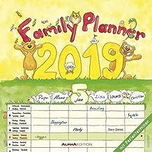 Familienplaner 2019 - Broschürenkalender: by Silke Leskin