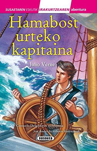 Hamabost urteko kapitaina (Susaetaren eskutik irakurri - 3.maila) por Julio Verne