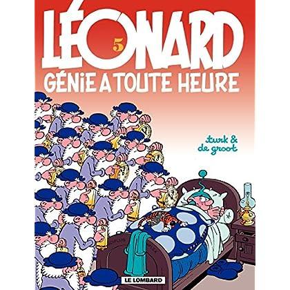 Léonard - tome 05 - Génie à toute heure