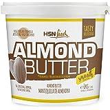 Mantequilla de Almendras de HSN con Textura Cremosa y Suave - 100% Natural - Almond Butter Smooth - Apto Vegetariano - Sin gr