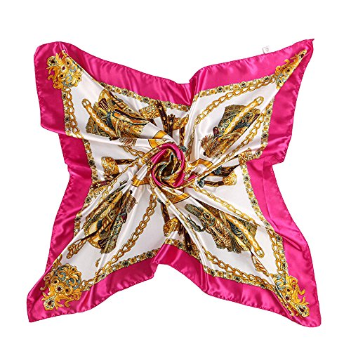 Gemini_mall Damen Schal Gr. One size, hot pink