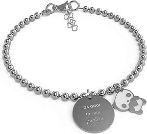 10 Buoni Propositi Bracciale Donna Gioielli Mini Trendy cod. B5275