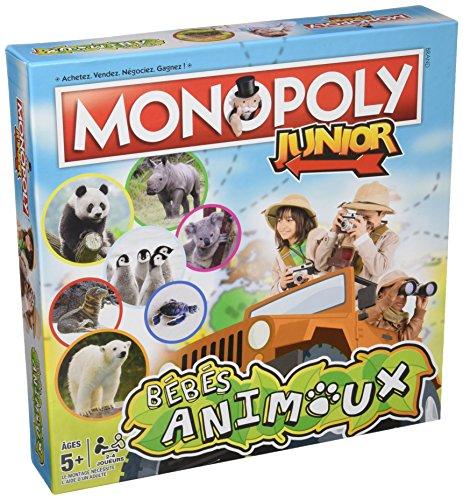 MONOPOLY JUNIOR BEBES ANIMAUX - Jeu de société - Version francaise