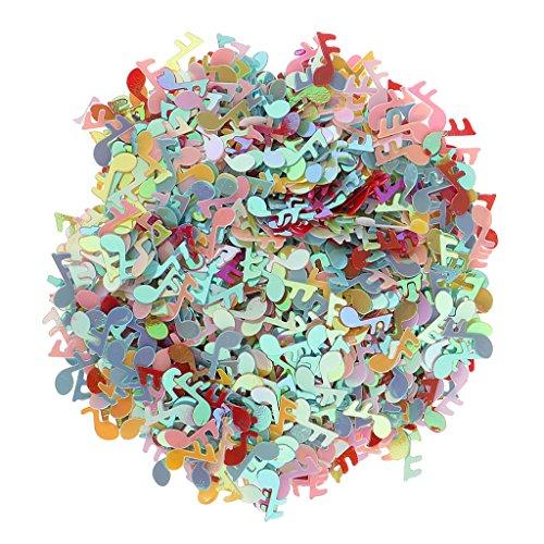 MagiDeal Musik Note Form Konfetti Hochzeit Geburtstagsfeier Konfetti Dekor