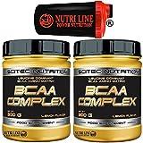 Scitec Nutrition Bcaa Complex 600 gr. (2 x 300 ) Aminoacidi Ramificati 8:1:1 - Best Reviews Guide