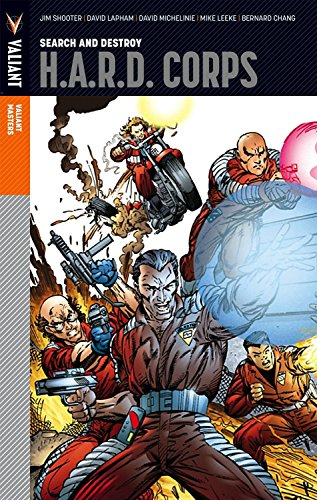 Valiant Masters: H.A.R.D. Corps Volume 1