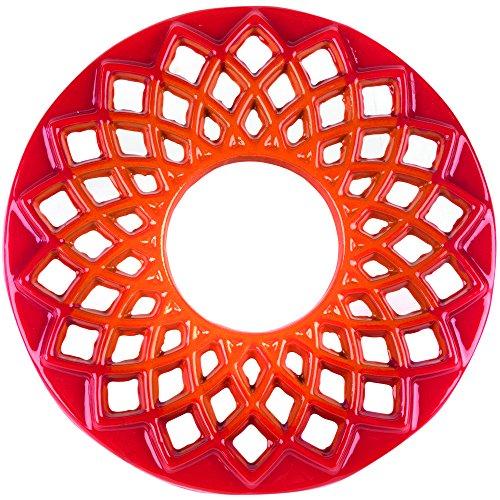ersetzer aus Gusseisen, 20cm, orange ()