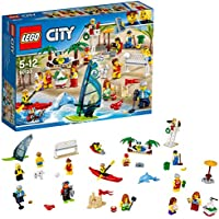 "LEGO UK 60153"" People Pack Fun At The Beach Construction Toy"