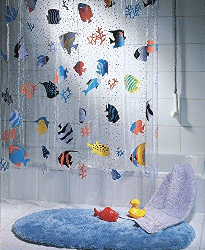 Playlearn - Cortina de ducha plástico