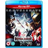 Captain America: Civil War on Bluray