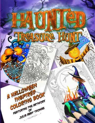 t: A Halloween Inspired Coloring Book (Color Quest Series) ()