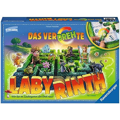 Ravensburger 21213 - Das verdrehte Labyrinth Brettspiel, Das Magische Labyrinth