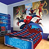 Marvel Spiderman Groupe Papier peint, XXL - 368cm x 258cm (WxH)
