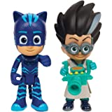 PJ Mask Light Up Figures - Cat Boy and Romeo