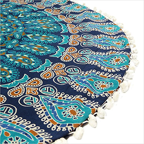 EYES-OF-INDIA-32-BLUE-MANDALA-FLOOR-PILLOW-CUSHION-SEATING-THROW-COVER-HIPPIE-DECORATIVE-Bohemian-Boho-Indian
