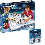 PLAYMOBIL® Sports & Action Eishockey 2er Set 5594 6191 Eishockey-Arena + Schiedsrichter