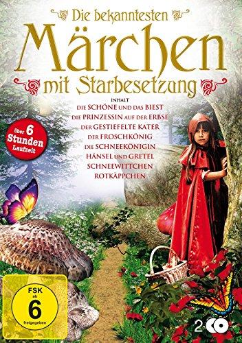 Die bekanntesten Märchen mit Starbesetzung [2 DVDs]