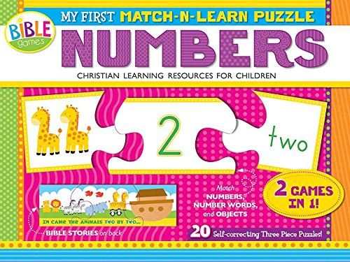 My First Match-N-Learn Puzzle: Numbers: 1 to 20 (I'm Learning the Bible Floor Puzzle)