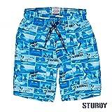 Sturdy Jungen Badehose 73200006 in Mehrfabig, Kleidergröße:98, Farbe:Mehrfabig
