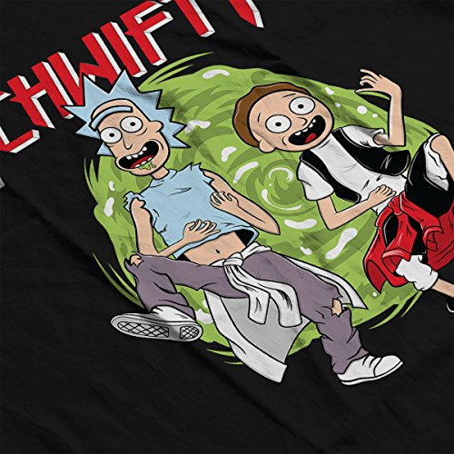 The Schwifty Adventure Rick And Morty Women's Vest Black