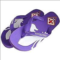 OFFICIAL PRODUCT Fiorentina Viola Firenze Ciabatte Infradito Mare Piscina Doccia Estate Numeri 43-44 E 45-46