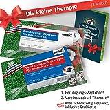 Geschenk-Set: Die Kleine Therapie für Rostock-Fans | 2X süße Schmerzmittel für Rostock Fans Fanartikel der Liga, Besser ALS Tasse, Kaffeepott, Becher & Fahne