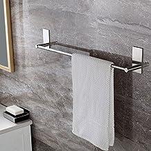 Selbstklebender Handtuchhalter Gebürstetem Edelstahl Handtuchstange Ohne  Bohren Bad Und Küche 55cm
