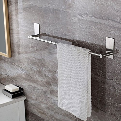 r Handtuchhalter gebürstetem Edelstahl Handtuchstange Ohne Bohren Bad und Küche 70cm ()