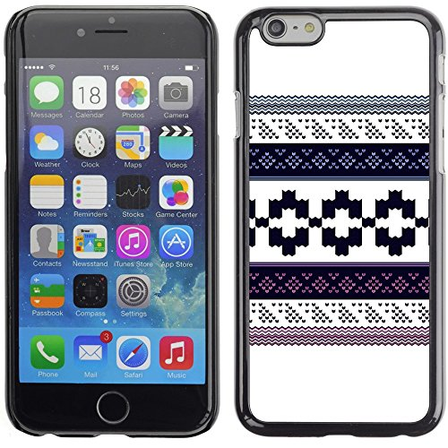 Graphic4You GLITCHY Muster Harte Hülle Case Tasche Schutzhülle für Apple iPhone 6 Plus / 6S Plus Design #6