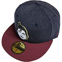 New Era Character Feature Superman Cap 59fifty Basic Fitted Basecap Kappe Men