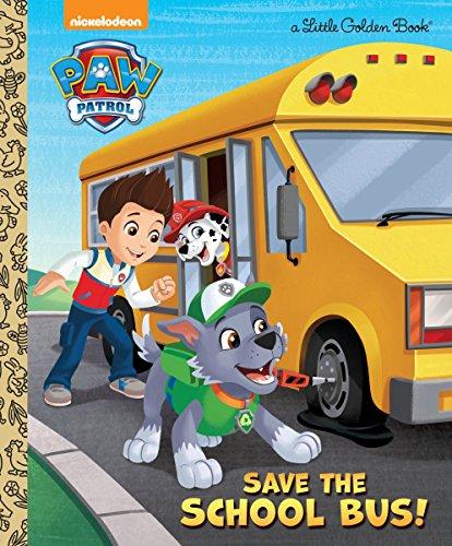 Save the School Bus! (Paw Patrol) (Little Golden Books: Paw Patrol) por Mickie Matheis