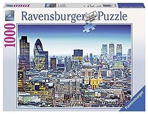 Ravensburger - Por Encima de los tejados de Londres, Puzzle de 1000 Piezas (19153 6)