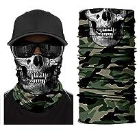 YouGa Tube Scarf - 3D Bandana Unisex Seamless Tube Headbands Headwrap, UV Resistance Outdoors Mutifunctional Headwear…