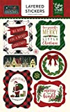 Twas The Night Before Christmas Layered Stickers (Pack of 3 )