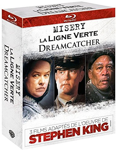 3 films adaptés de l'oeuvre de Stephen King: Dreamcatcher + Misery + La ligne verte [Édition Limitée]