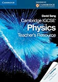 Cambridge IGCSE Physics Teacher's Resource CD-ROM (Cambridge International IGCSE) by David Sang (2010-11-15)