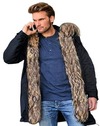 Black parka jacket size 20