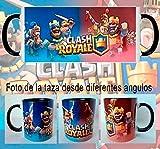 Taza Clash Royale Rey Rojo y Azul