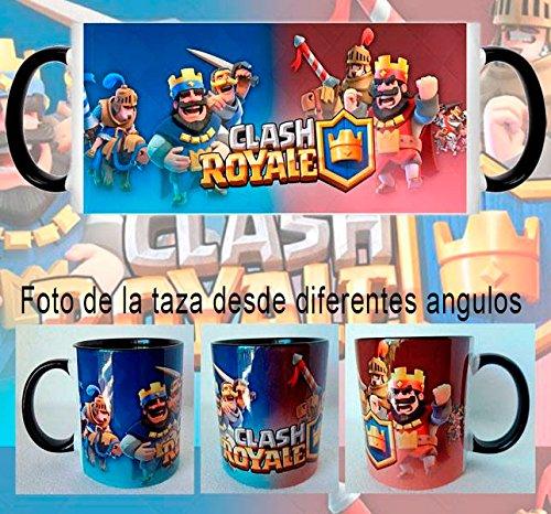 Clash Royale King Red and Blue Mug